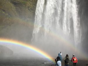 Waterfall and Rainbows