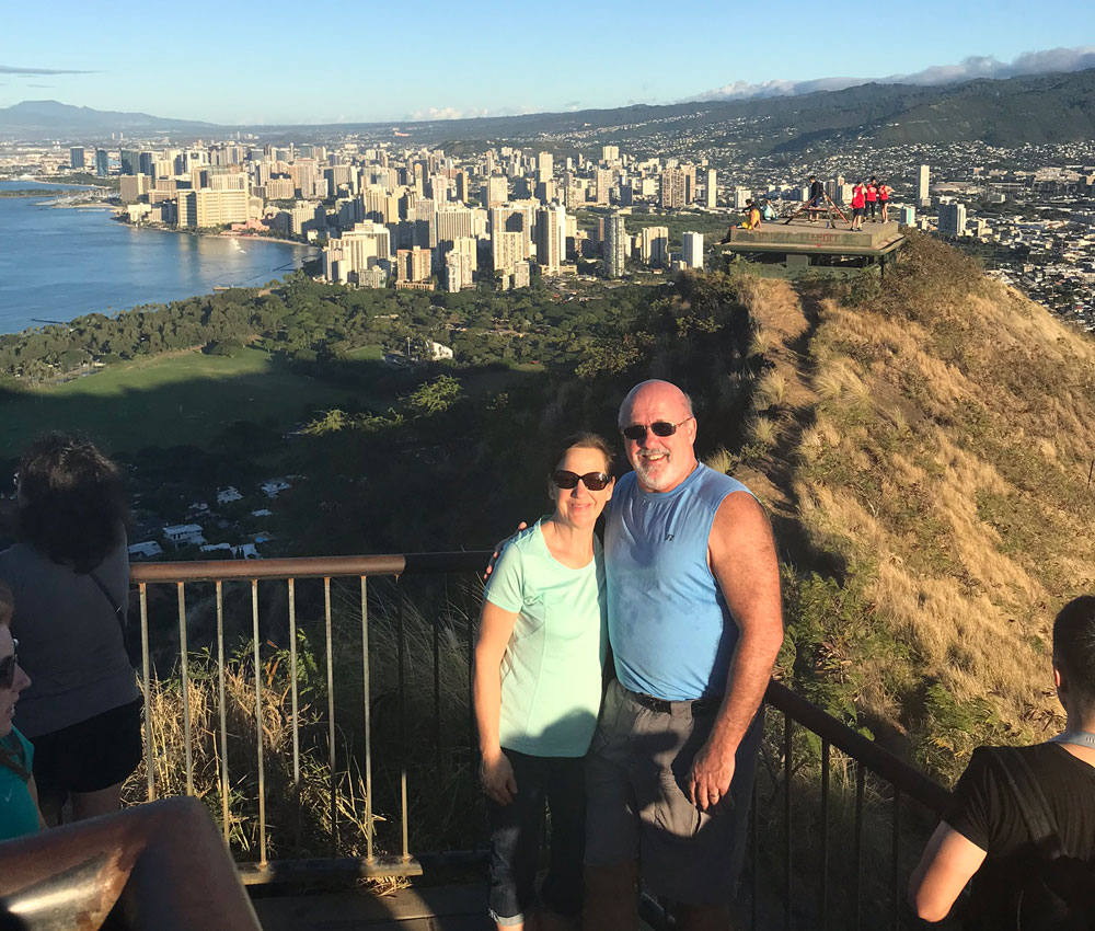 Hike up Diamond Head