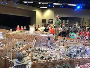 Ancient biblical city model