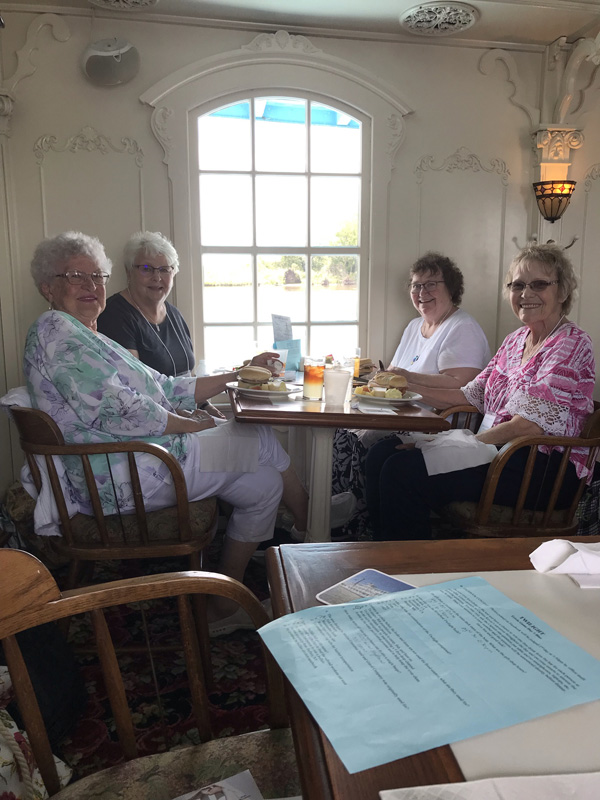 Ladies at lunch