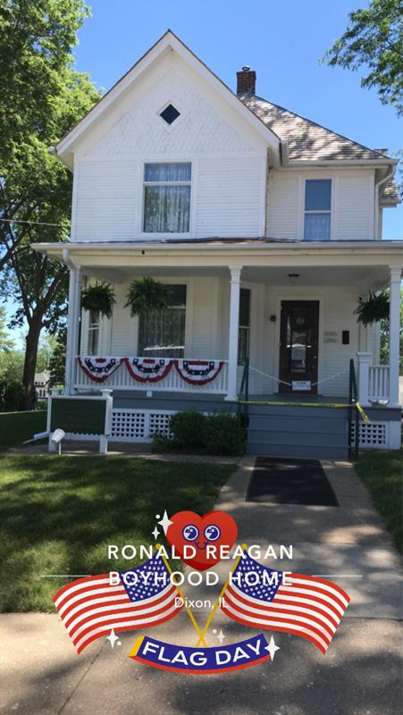 Reagan boyhood home
